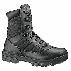 Military/Tactical Boots, Toe Type: Plain, Black, Size: 8-1/2