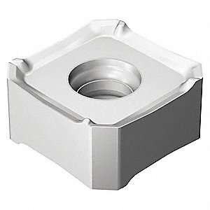 "Square Milling Insert, 345R 0.512""-MM 1040"