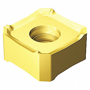 "Square Milling Insert, 345R 0.512""-MM S40T"