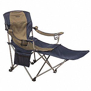 "49"" x 24-1/2"" Chair with 300 lb. Weight Capacity; Blue/Gray"