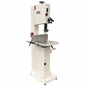 1-3/4 HP Vertical Band Saw, Voltage: 115/230, Max. Blade Length: 124-1/2""