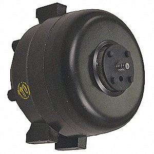 1/50 HP Unit Bearing Motor, Shaded Pole, 1550 Nameplate RPM,230 Voltage, Frame Non-Standard