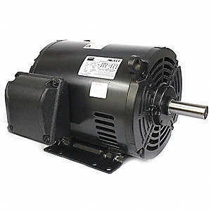 5 HP General Purpose Motor,3-Phase,1740 Nameplate RPM,Voltage 208-230/460,Frame 213/5