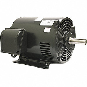 10 HP General Purpose Motor,3-Phase,1770 Nameplate RPM,Voltage 208-230/460,Frame 254/6U