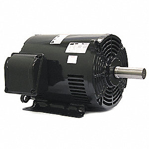 15 HP General Purpose Motor,3-Phase,1770 Nameplate RPM,Voltage 208-230/460,Frame 254/6T