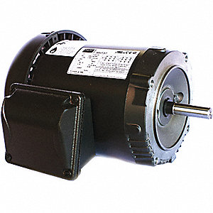 2 HP General Purpose Motor,3-Phase,3480 Nameplate RPM,Voltage 230/460,Frame 56C