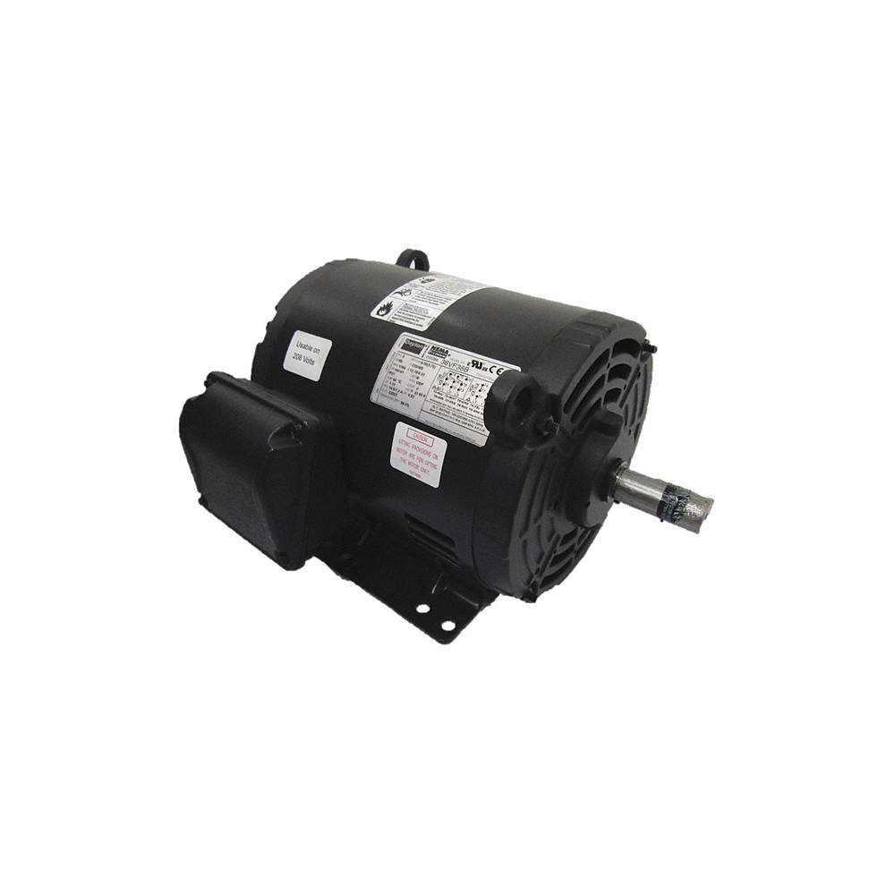 5 HP General Purpose Motor,3-Phase,1760 Nameplate RPM,Voltage 230/460,Frame Weg Cc A Wiring Diagram on