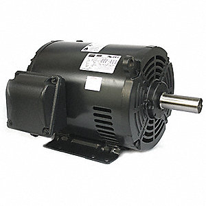 10 HP General Purpose Motor,3-Phase,1770 Nameplate RPM,Voltage 208-230/460,Frame 213/5T