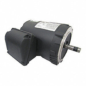 1 HP General Purpose Motor,3-Phase,3520 Nameplate RPM,Voltage 230/460,Frame 56C