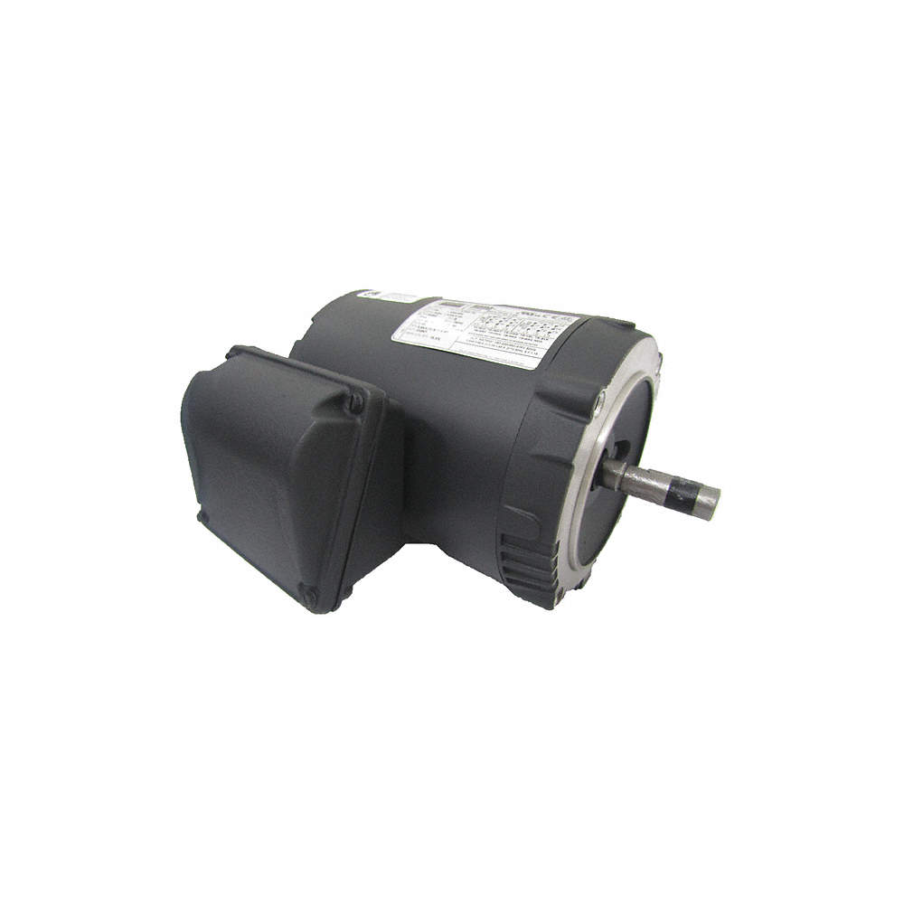 1 HP General Purpose Motor,3-Phase,3520 Nameplate RPM,Voltage 230/460,Frame Weg Cc A Wiring Diagram on