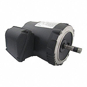 1-1/2 HP General Purpose Motor,3-Phase,1750 Nameplate RPM,Voltage 230/460,Frame 56C