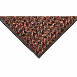 Carpeted Entrance Mat,Brown,4ft. x 8ft.
