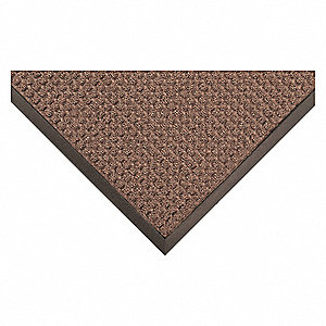 Carpeted Entrance Runner,Brown,4ftx10ft