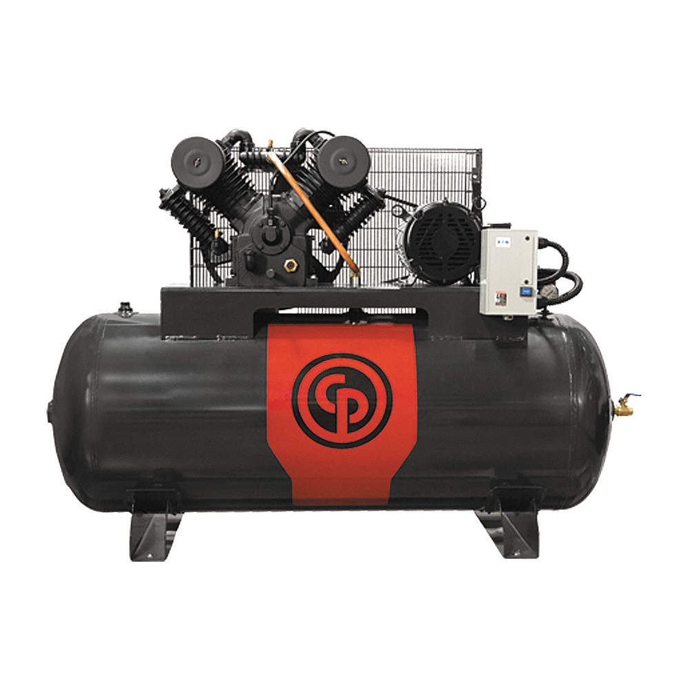 Electric Air Compressor >> 3 Phase Electrical Horizontal Tank Mounted 10 0hp Air Compressor Stationary Air Compressor 120