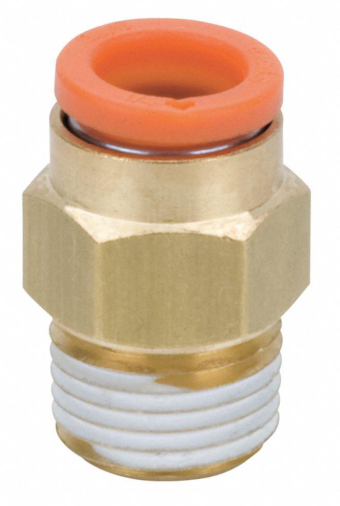 "SMC KQ2E13-37 cloison connecteur femelle 1//2/"" NPT 1//2/"" OD Tube New No Sac"