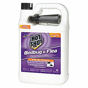 Bed Bug Killer, Liquid Spray, Indoor Only, Ready to Use Dilution Ratio