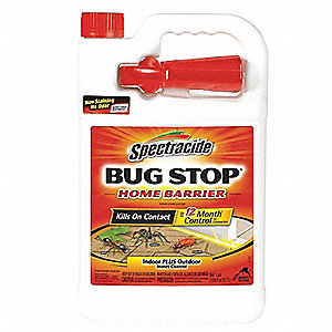Insect Killer, Liquid Spray, Indoor/Outdoor, Ready to Use Dilution Ratio