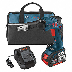 Cordless Screwgun Kit,18.0V,Li-Ion