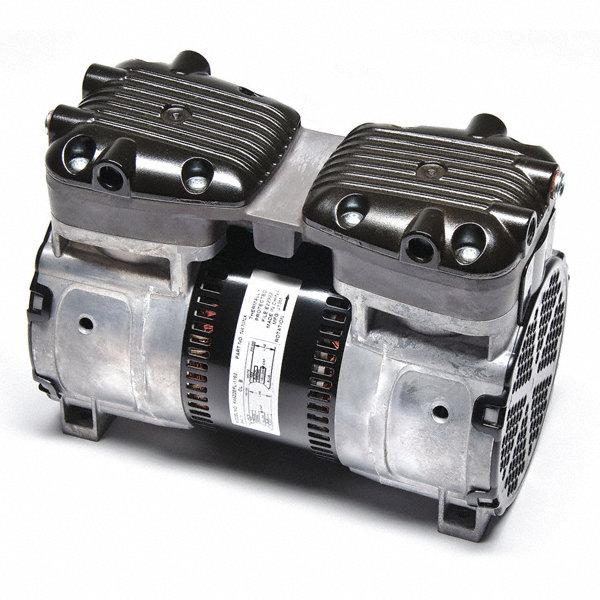 Gast 1 2 hp rocking piston air compressor 115 120 230 for Gast air motor distributors