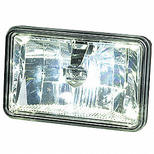 Headlight,560 lm,Rectangle,LED