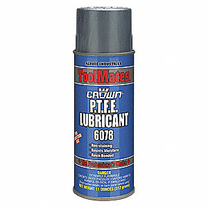 Lubricant, 40°F to 110 Degrees F, No Additives, 11 oz. Aerosol Can