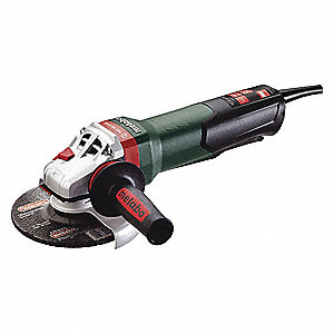 "Angle Grinder,6"",10 A,9600 RPM,120VAC"