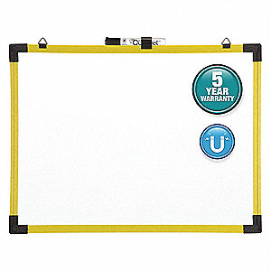 "Dry Erase Board,Wall Mounted,36""x48"""