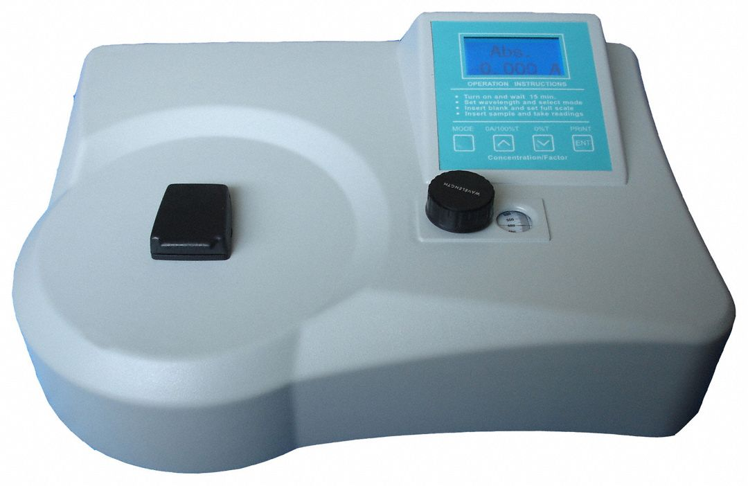 Spectrophotometer,VIS,335 to 1000nm