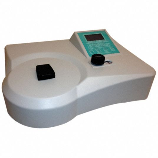 Spectrophotometer,  40° Max. Temp. (C),  10nm Bandwidth,  335 to 1000nm Wavelength