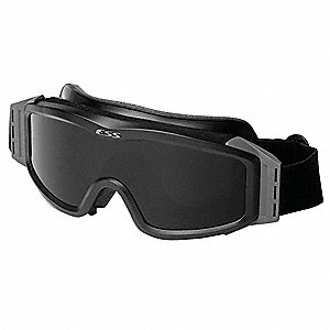 Anti-Fog, Scratch-Resistant Indirect Tactical Goggles, Clear, Smoke, Gray Lens