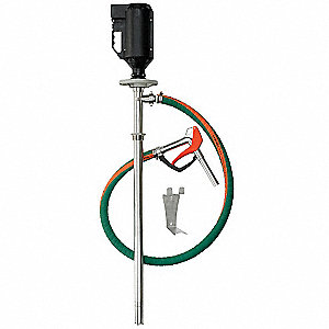 0.8 HP 316 Stainless Steel Centrifugal Electric Operated Drum Pump, 32 GPM, 10,000 RPM