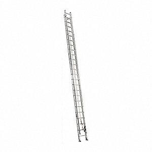 48 Ft Aluminum Extension Ladder 250 Lb Load Capacity 117 0 Lb