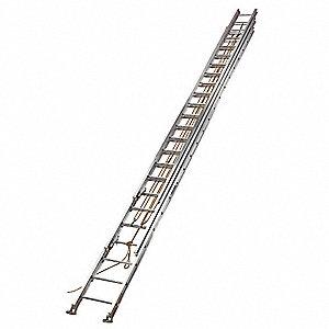 60 Ft Aluminum Extension Ladder 250 Lb Load Capacity 173 0 Lb
