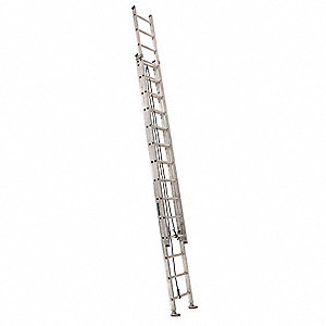 Extension Ladder, Aluminum, IA ANSI Type, 14 ft. Ladder Height