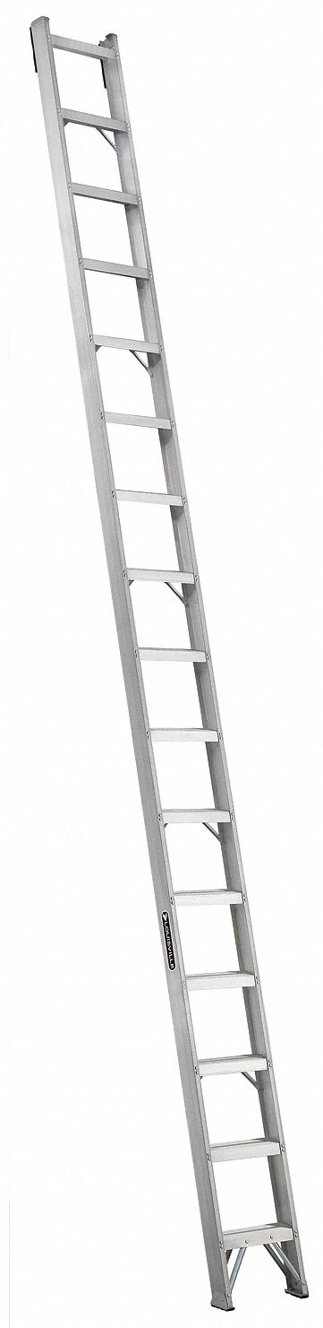 LOUISVILLE 16 ft Aluminum Shelf Ladder 300 lb Load Capacity 15