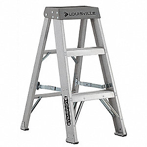 3 ft. 300 lb. Load Capacity Aluminum Stepladder
