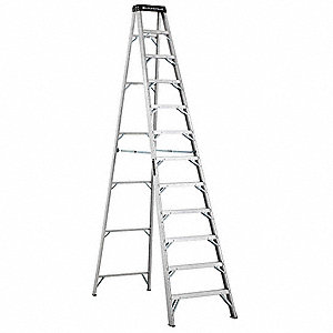 12 ft. 375 lb. Load Capacity Aluminum Stepladder