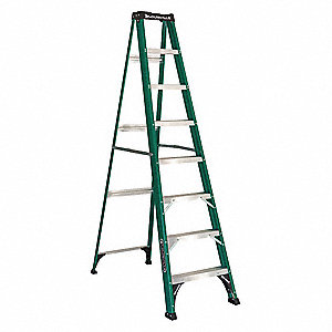 8 ft. 225 lb. Load Capacity Fiberglass Stepladder