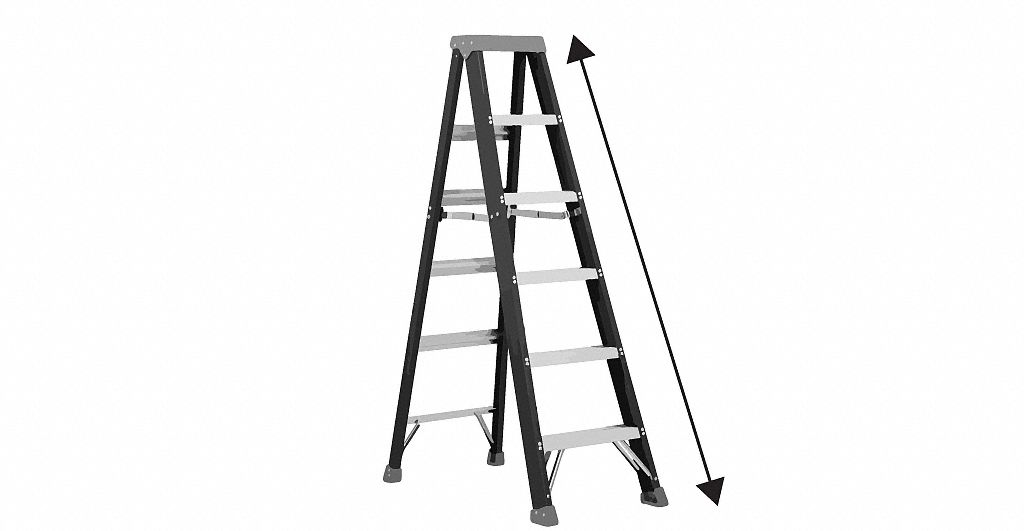 14 ft. Stepladders - Stepladders and Platform Stepladders - Grainger ...