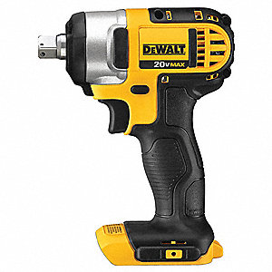 "1/2"" Cordless Impact Wrench, 20.0 Voltage, 150 ft.-lb. Max. Torque, Bare Tool"