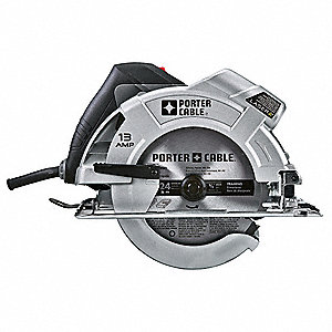 "7-1/4"" Circular Saw, 5000 No Load RPM, 13.0 Amps, Blade Side: Right"