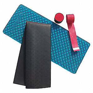 Orthex Grip Kit,1/8InHx12InW,Blue/Black