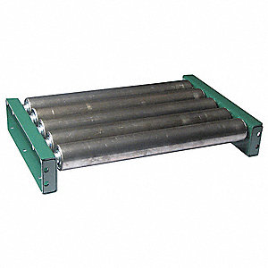 Roller Conveyor,5 ft. L, 39BF