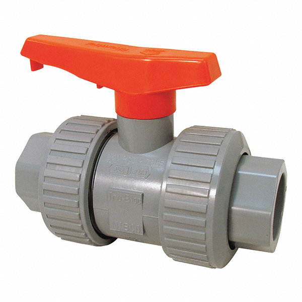 Chemtrol cpvc socket fnpt ball valve lever quot pipe