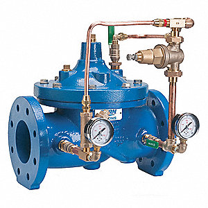 Auto Control Valve,6 in. Pipe,Flanged