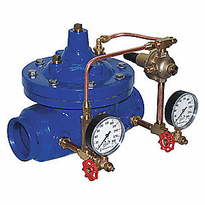 Grooved Pressure Reducing Automatic Control Valve, 1-1/2 Pipe Size
