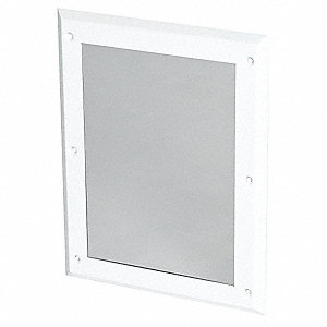 "17""H x 13""W Antiligature Mirror"
