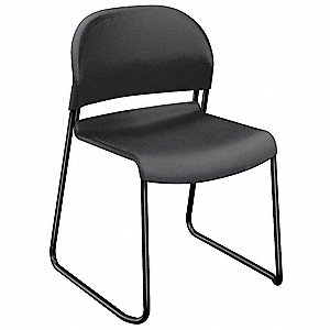 Stacking Chair,Lava,17-1/2 In. H,PK4