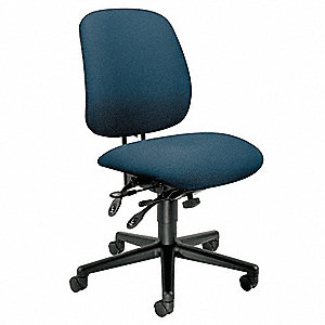 hon navy blue fabric task chair 19 1 4 back height arm style no