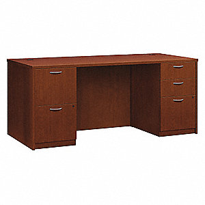 Office Desk,66 x 29 x 30 In,Cherry
